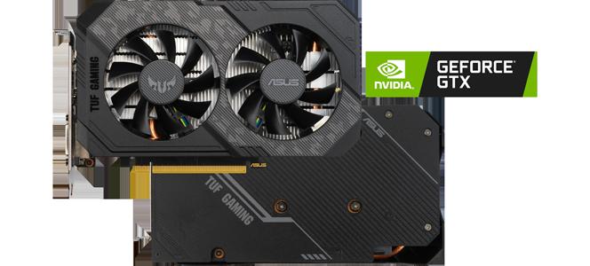 TUF GAMING NVIDIA GeForce 1660 Super Turing Graphics Card