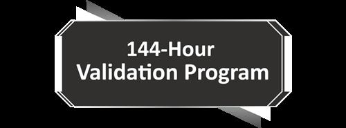 144 Hour Validation Period