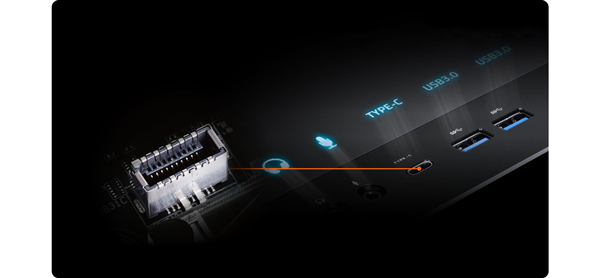 USB Type-C Front Panel