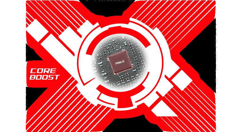 x570 Gaming edge core boost