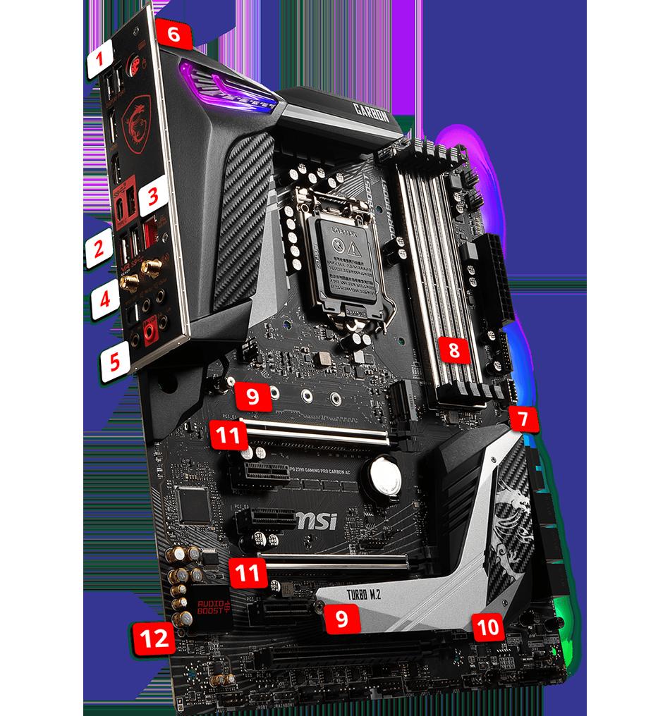 Z390 Godlike features